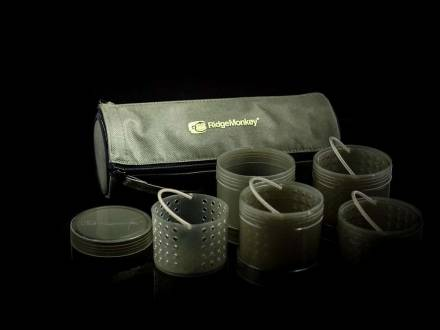 RidgeMonkey Modular Hook Bait Pot Green