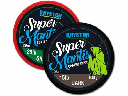 Kryston Super Mantis Coated Braid