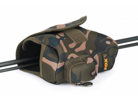 Fox Camo Neoprene Reel Pouch