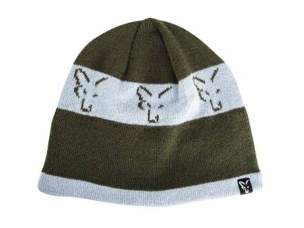 Fox Collection Beanie Green / Silver
