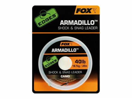 Fox Edges Armadillo Camo Shock & Snag Leader