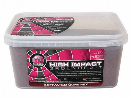 Mainline High Impact Groundbait Activated The Link TM Mix 2 kg