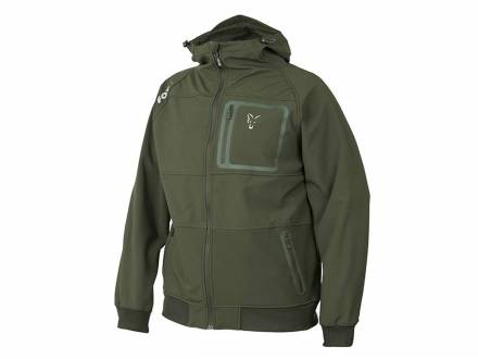 Fox Collection Green & Silver Shell Hoodie