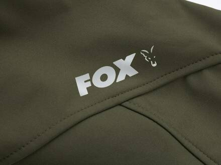Fox Collection Green & Silver Shell Hoodie XXXL