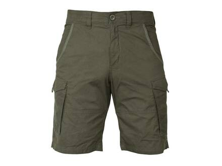 Fox Collection Green / Silver Combat Shorts S