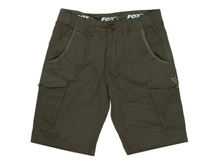 Fox Collection Green / Silver Combat Shorts M