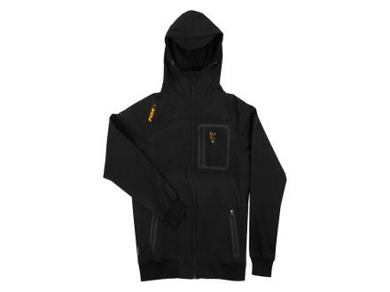 Fox collection Black / Orange Shell hoodie