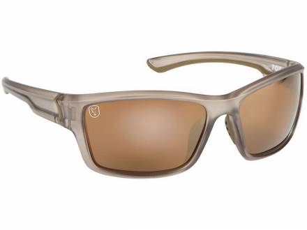 Fox Trans Khaki Brown Mirror lense