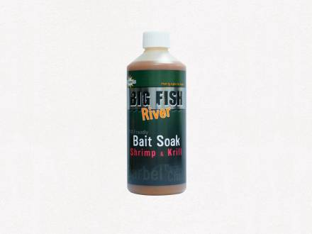 Dynamite Baits Big Fish River Shrimp & Krill Soak 500ml
