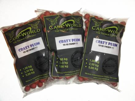 Carp World NOT FROM EARTH Boilie Crazy Plum
