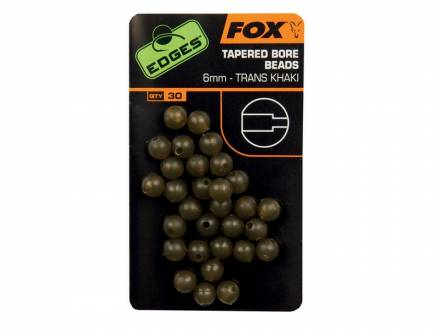 Fox Edges Tapered Bore Beads